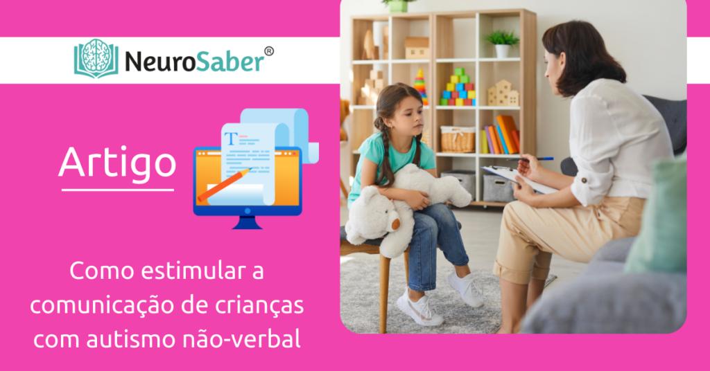 Como estimular a comunicação em crianças com autismo não-verbal